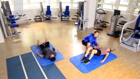 Übung für einen starken Rücken: Bridging
