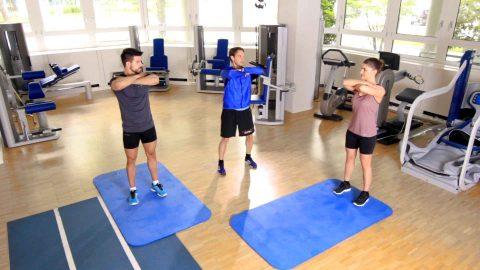 Korrekte Ausführung einer Kniebeuge für ein wirkungsvolles Rückentraining
