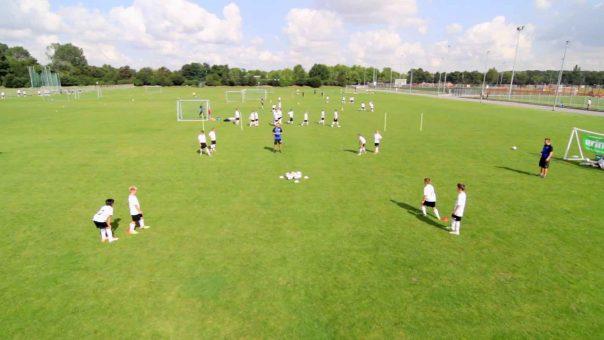 Fangspiel Bälle klauen | Trainiere Schnelligkeit, Koordination und Ballgefühl