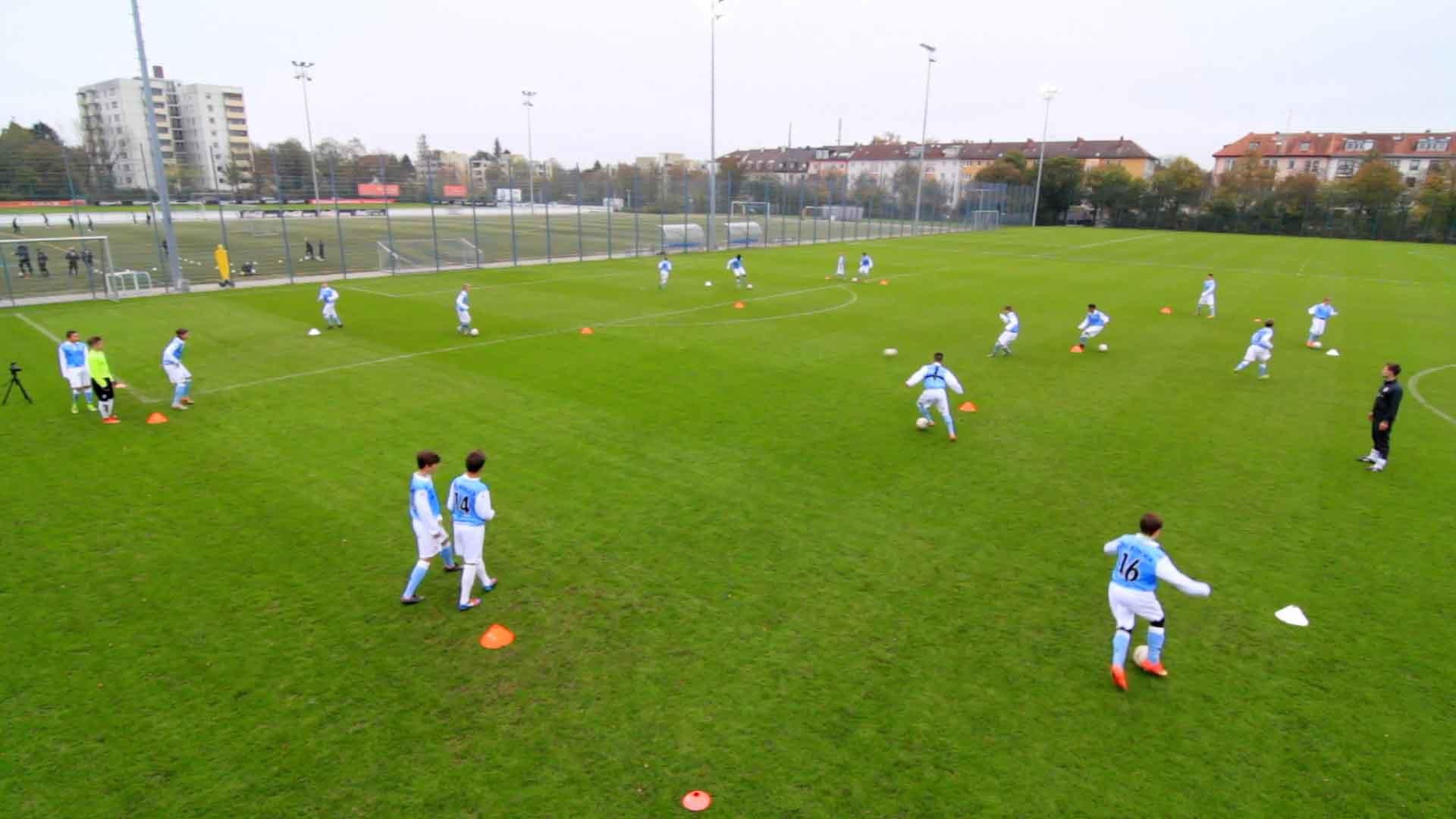 Ballschule: Außen-Außen, Innen-Innen