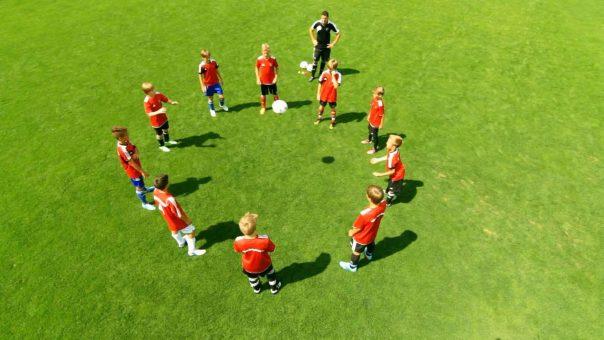 Konzentrationsübung mit Bällen für junge Sportler & Schüler