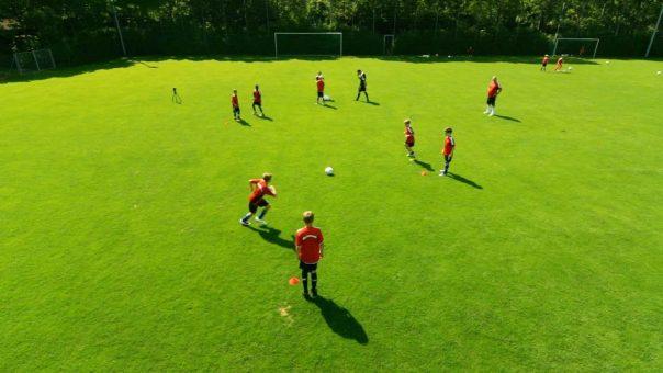 Fußballübung für's Jugendtraining: Das Passtrapez