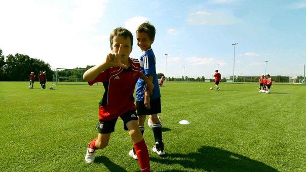 Übungen für F- und E-Jugend | Inneres und äußeres Viereck