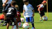 Technikviereck: Ball stoppen