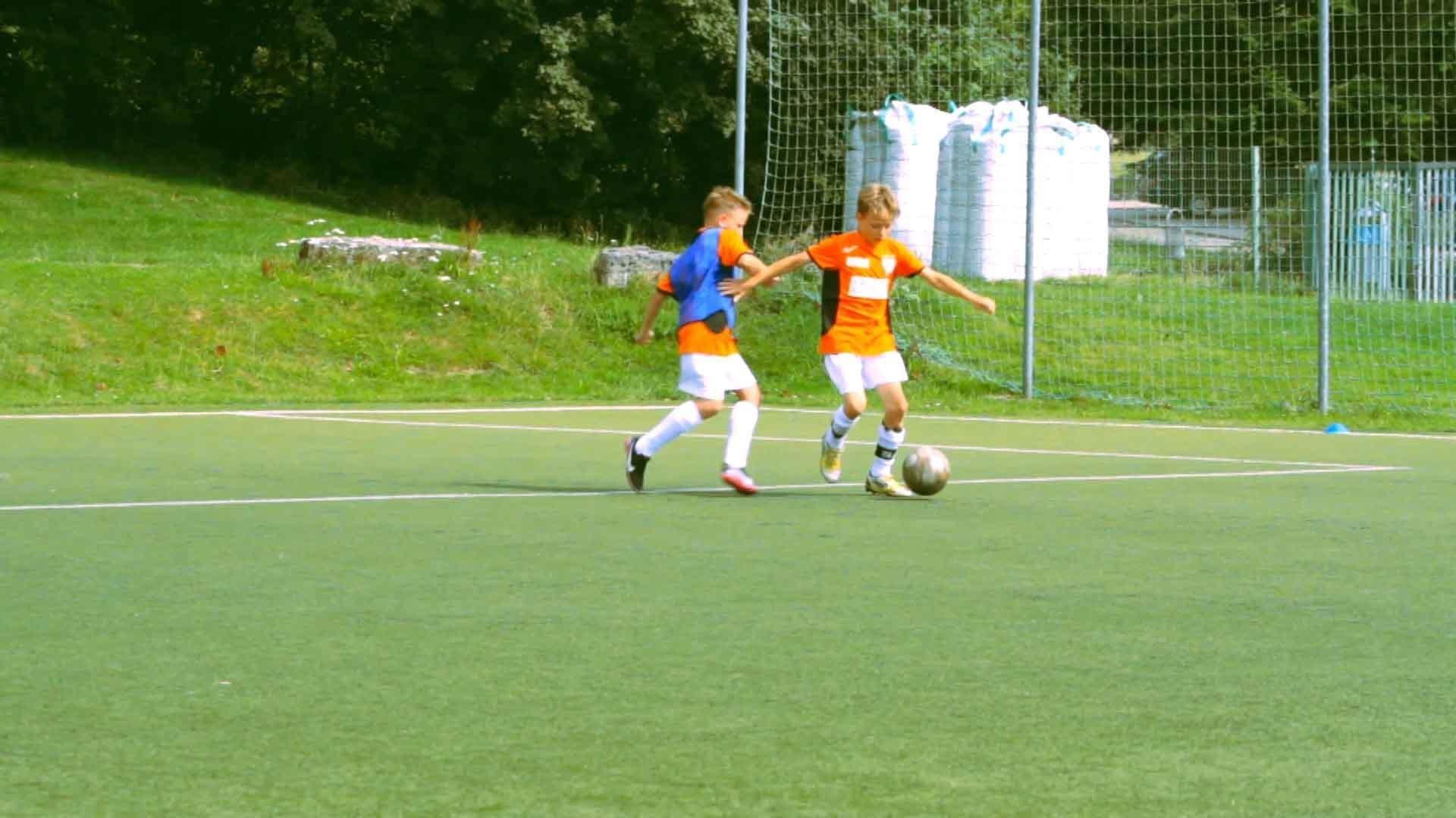 "Trainingsspiel ""Championsliga"""