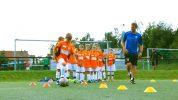 Koordinationsparcours als Trainingseinführung