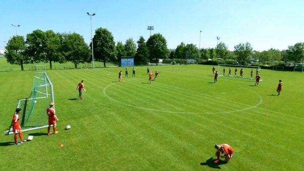 Schnelligkeitstraining im Fußball: Das Umkehrspiel