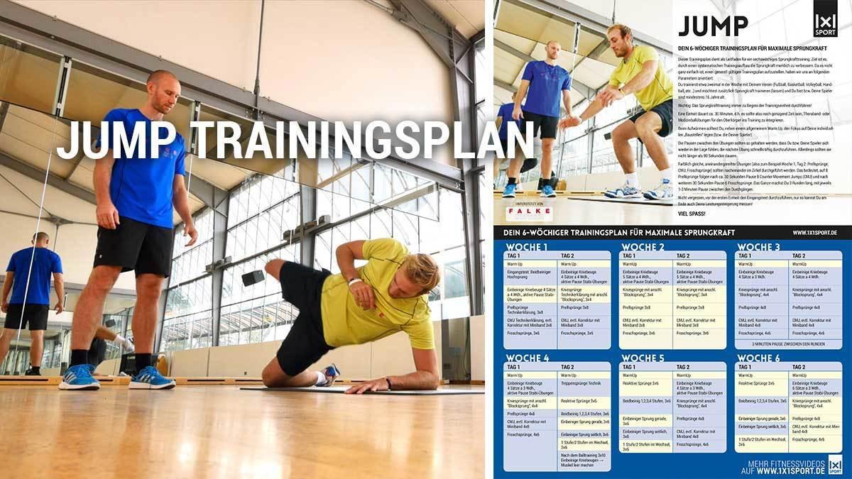 Jump   6-Wochen Trainingsplan