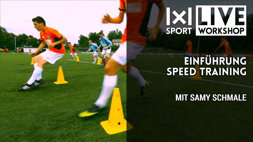 Bonus: Einführung Speed Training mit Sammy Schmale