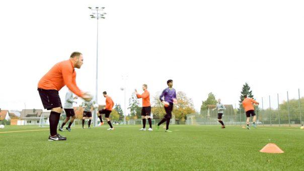 Technikübung für Fußballer: Zuwurf Advanced
