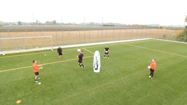 Der Belastungslauf: Fußballübung für Ausdauer, Schnelligkeit und Technik