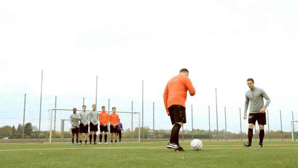 Kreative Freistoßvarianten für Fußballmannschaften