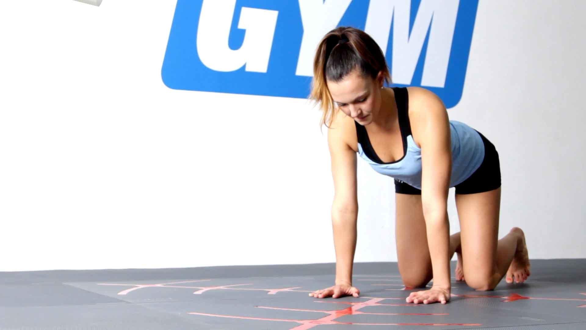 Krabbelmuster (Bodyweight Training)