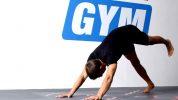 Spannen der Streckmuskulatur + Rotation
