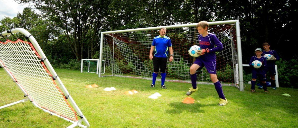 Torwarttraining Fußballübung zum Umschaltspiel / Für Kinder und Jugendliche