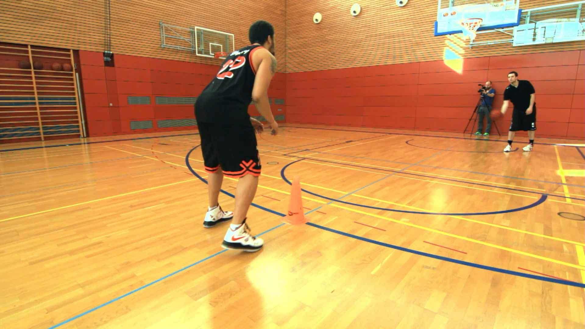 2. Wurf Übungen c Fußarbeit 1