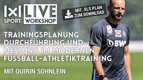 Trainingsplanung, Durchführung & Messung im modernen Fußball-Athletiktraining