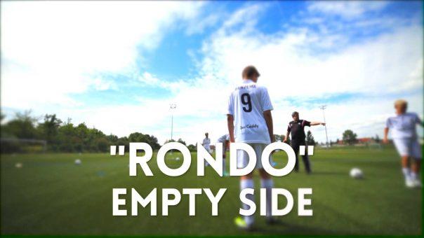 """Spielen wie die Spanier: """"Rondo"""" Empty Side"""