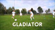 Fußball-Trainingseinheit zur Ballkontrolle: Gladiator