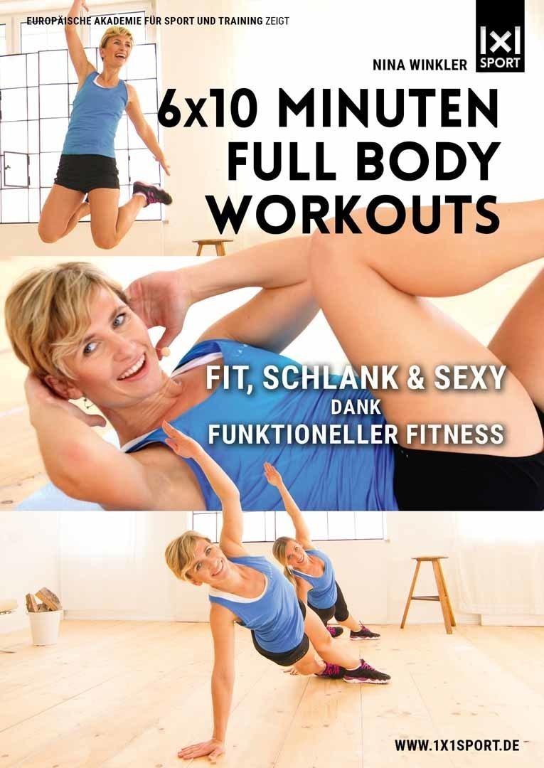 6x10 Minuten Full Body Workouts
