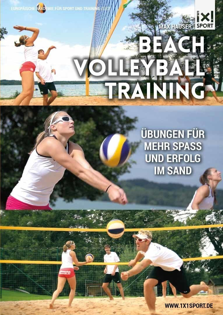 Beachvolleyball-Training