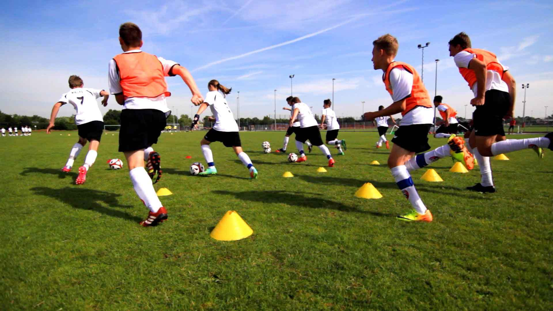 Speedtraining Hasenjagd mit Ball