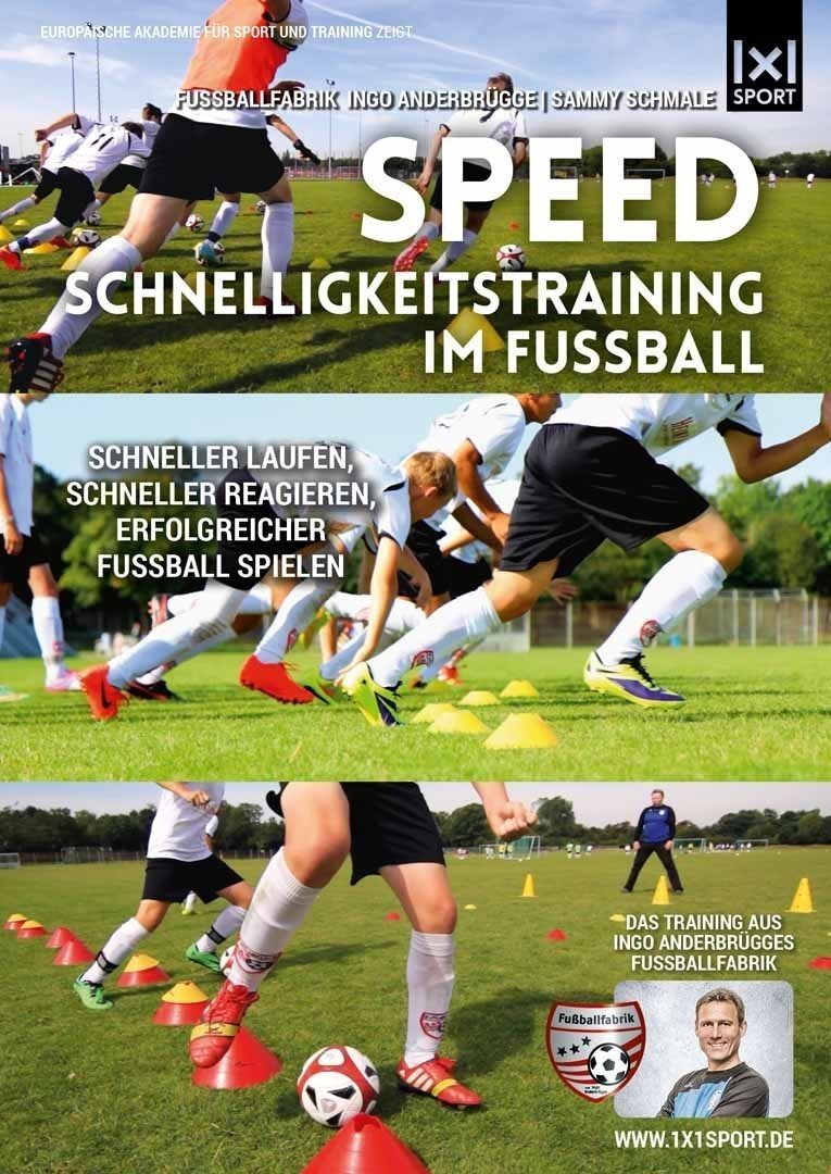 Schnelligkeitstraining im Fußball
