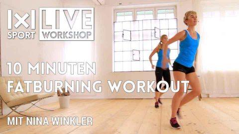 Dein Fat Burning Workout – in 10 Minuten Fett verbrennen